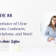 The Importance of Clear Agreements, Contracts, Job Descriptions, and More!